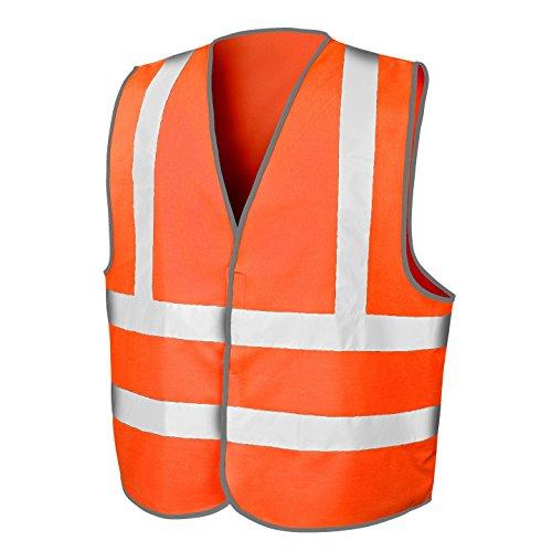 budget-haute-visibilite-visibilite-reflechissant-haute-visibilite-gilet-fluo-orange