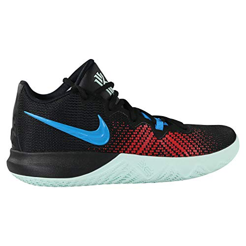 Nike Men's Kyrie Flytrap Black/Blue-Uni.Red-Igloo Basketball Shoes-7 UK/India (41 EU) (AA7071-002)