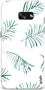 Qrioh Printed Designer Back Case Cover for Samsung A3 2017 - Flying Ferns