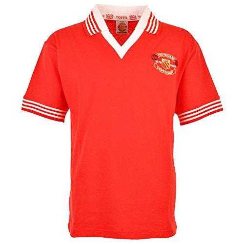 TOFFS Manchester United 1978-1979 Retro Football Shirt (LARGE)