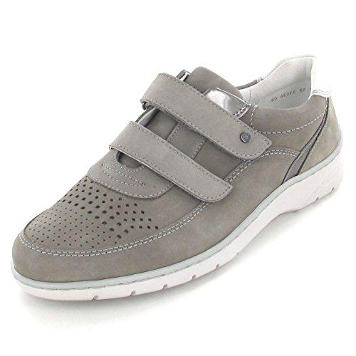 ara  12-31034-06, Chaussures de ville à lacets pour femme gris grigio/fucile/cloud Weite H GRIGIO,FUCILE/CLOUD