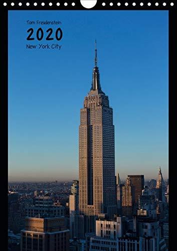 Vertical New York (Wandkalender 2020 DIN A4 hoch): Ansichten New Yorker Wolkenkratzer (Monatskalender, 14 Seiten ) (CALVENDO Orte)