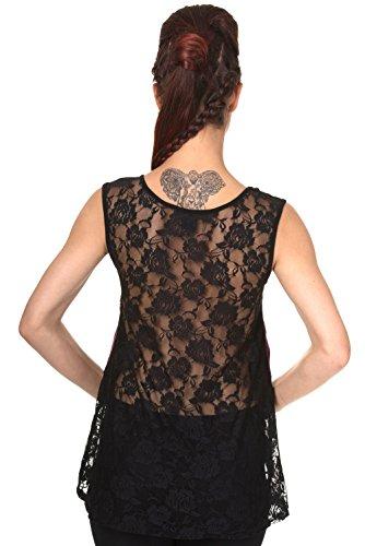 Banned Top MIA Vest 197 Bordeaux