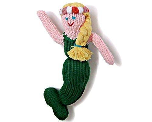 estella-hand-knitted-organic-cotton-rattle-toy-mermaid