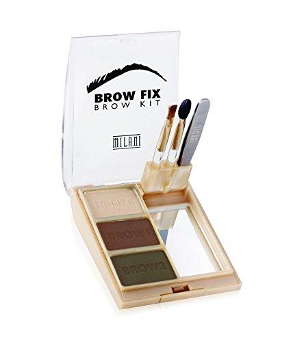 Milani Brow Fix - dark, 1er Pack (1 x 1 Stück) - Brow Grooming Set
