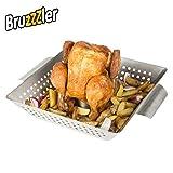 Bruzzzler Cuocipollo, Grill per Pollo arrosto, Acciaio Inox
