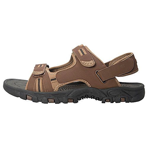 Mountain Warehouse Z4 Sandal Walking Hiking Beach Holiday Shoes Mens Outdoor Summer Active Sport Brown 11 UK