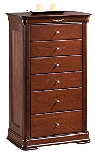 sideboard nemea erle kirschfarben 149 teilmassiv 112 x 65 x 43 cm h x b x t. Black Bedroom Furniture Sets. Home Design Ideas