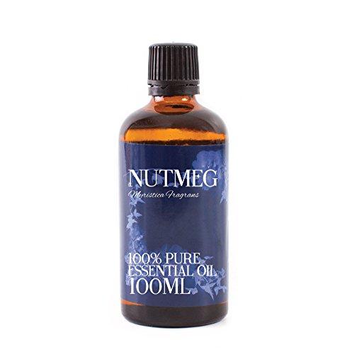 Mystic Moments Huile Essentielle de Noix De Muscade - 100ml - 100% Pure