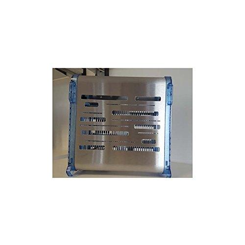 FLYinBOX 20 inox-bleu 50m²