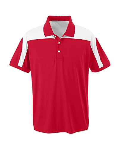 Team 365 TT22 Herren Victor Performance Polo Shirt Rot - Sport Red