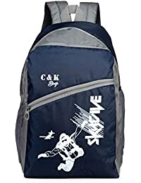 Chris & Kate Polyester 26 LTR School Backpack