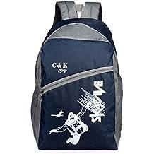 Chris & Kate Polyester 26 LTR School Backpack