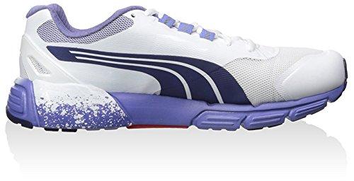 Puma Faas 500 S V2 Maschenweite Laufschuh white-astral-denim