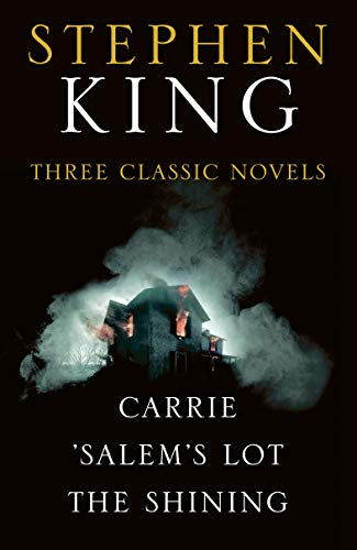Stephen King Three Classic Novels Box Set: Carrie, Salems Lot ...