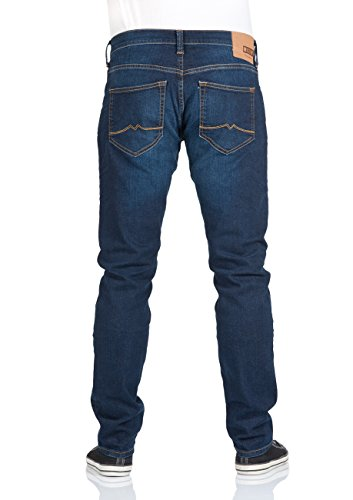 Mustang Herren Jeans Oregon - Tapered Fit - Blau - Strong Blue - Light Blue Light Blue (053)