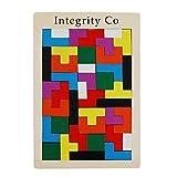 Didaktisches Holzpuzzle für Kinder (Tetris)