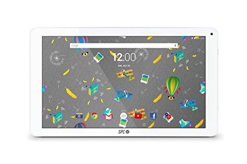 "SPC Blink - Tableta de 10.1"" (Quad Core Cortex A53 1.3 GHz, memoria interna 16 GB, 1 GB de RAM, HD, Android 7.0) blanco [España]"