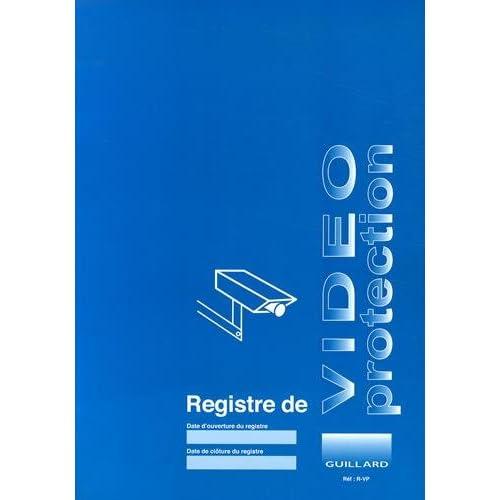 Registre de vidéo-protection