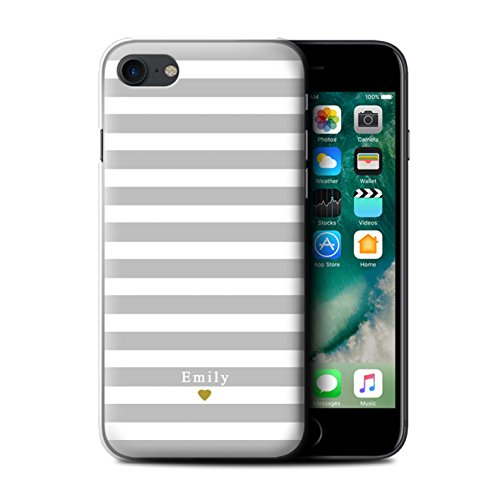 coque iphone 8 initiales