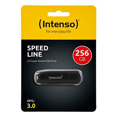 Intenso Speed Line 256GB Speicherstick USB 3.0 schwarz