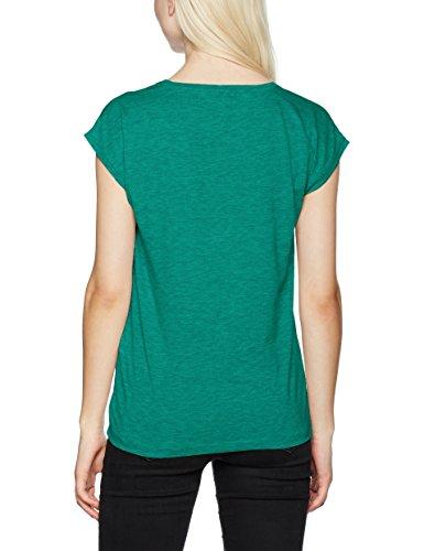 PIECES Damen T-Shirt Pcbillo Tee Solid Noos Grün (bosphorus bosphorus)