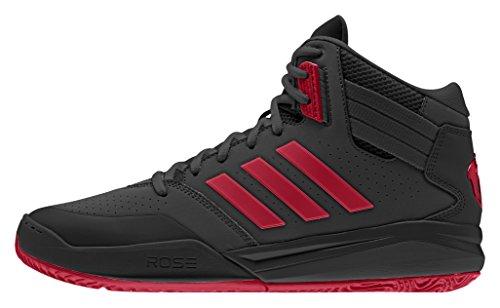 adidas Herren D Rose 773 Iv Td Turnschuhe Schwarz / Rot (Negbas / Scarlet / Negbas)