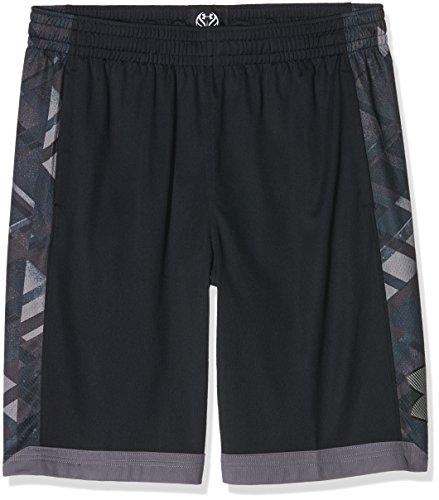 Under Armour-Ua isolamento 11pollici di basket Pantaloni & Shorts, Uomo, Basketball Hose und Shorts UA Isolation 11 Zoll, nero, XL