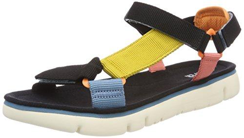 CAMPER Damen Oruga Sandal, Mehrfarbig (Multi-Assorted 999), 38 - Schuhe Camper Frauen Für