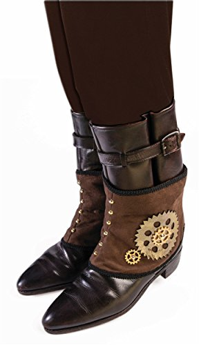Forum Novelties 77092 Steampunk Spats, One Size steampunk buy now online