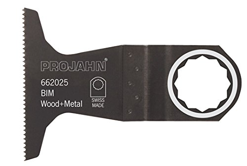 Projahn 662025 plunge-cutting Lames pour scie plongeante BIM, en bois, en métal, SC, 65 mm, PU 5