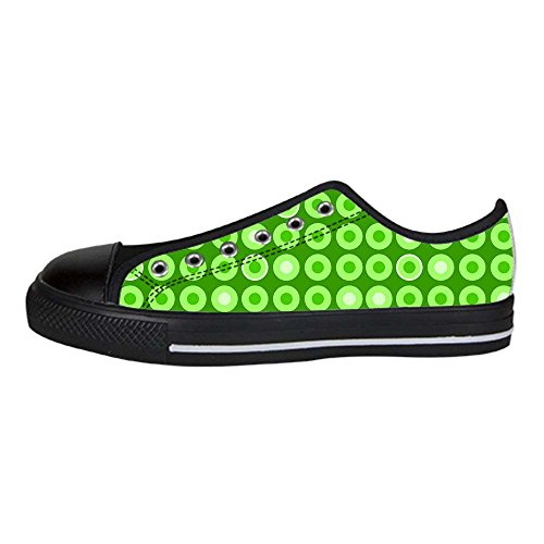 Dalliy polka dots Men's Canvas shoes Schuhe Lace-up High-top Sneakers Segeltuchschuhe Leinwand-Schuh-Turnschuhe E