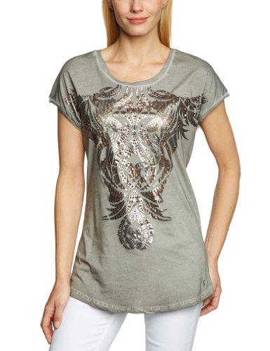 Tigerhill - T-Shirt - Femme Gris (Mediumgrey 0080)