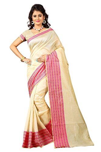 sarees (Cotton silk sarees silk sarees kanchipuram silk cotton sarees silk sarees for women silk sarees for women party wear sarees for women latest design Women\'s Cotton Silk Saree sarees below 500