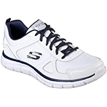 skechers memory foam uomo - Bianco - Amazon.it