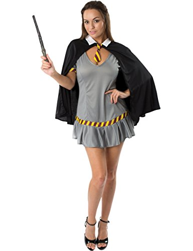 Ladies Wizard Wanda School Girl Fancy Dress Book Week Costume Medium/Large