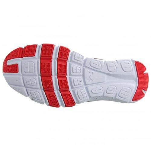 Under Armour Micro G Limitless TR, Chaussures de Fitness Homme Blanc/noir