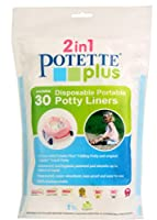 Potette Plus Disposable Liners 30 pack