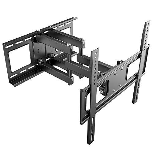 RICOO LCD TV Wandhalter Schwenkbar Neigbar S1544 Fernseher Wandhalterung Halterung Fernsehhalterung LED Flachbildschirm ca.76-165cm / 30'- 32' - 42' - 47'- 55' - 65' Zoll