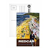 Redcar British Railways - Postcard (Pack of 8) - Highest Quality