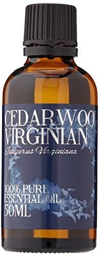 Mystic Moments | Aceite Esencial de Cedro Virgen, 50 ml, 100% Puro