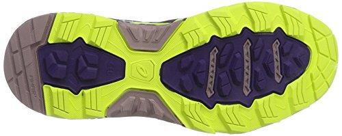 Asics Damen Gel-Fujitrabuco 5 G-TX Traillaufschuhe Violett (Parachute Purple/safety Yellow/Black)