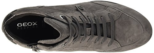Geox Damen D Illusion A High-top Grau (dk Greyc9002)