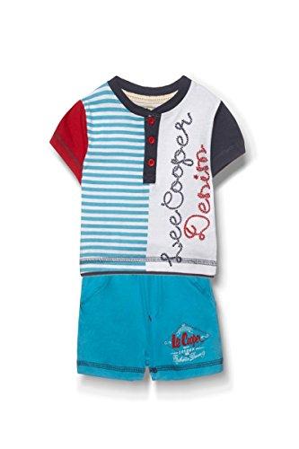 Lee Cooper - Ensemble Deux pièces Tee Shirt et Short - bébé garçon - Bleu