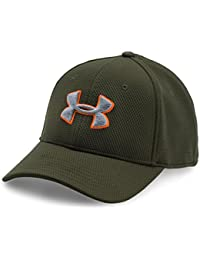 Under Armour Boys' Blitzing II Stretch Fit Cap