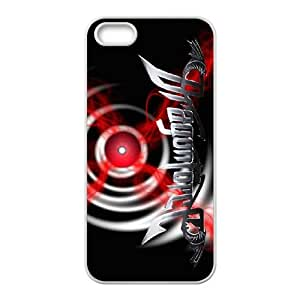 iPhone 5 5s Cell Phone Case Covers White DragonForce ngzy