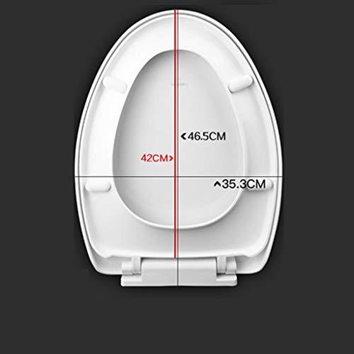 LIYONG Toilettendeckel, universell verdicktes Vintage WC-Sitzzubehör (Size : C)