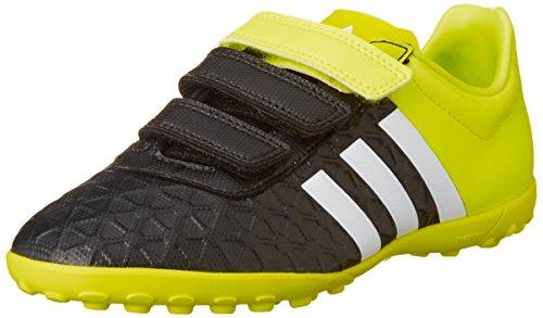 Adidas Ace 15.4tf J Hl S31600 Unisex - Scarpa Sportiva Per Bambini Nero - Giallo - Bianco