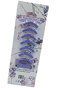 Bella and Bear Eyelash Curler Replacement Refill Pads (Pack of 8) Washable Premium Quality Cushion Silicone Pads (Spring)