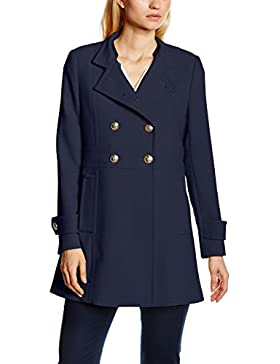 Tommy Hilfiger Nichelle Coat, Abrigo para Mujer, Azul (navy blazer 400), XXL